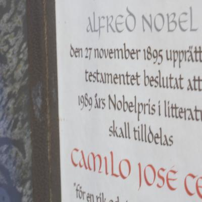 Nobel Prize in Literature Diploma